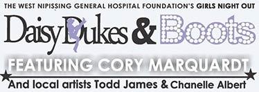 Daisy Dukes and Boots event logo